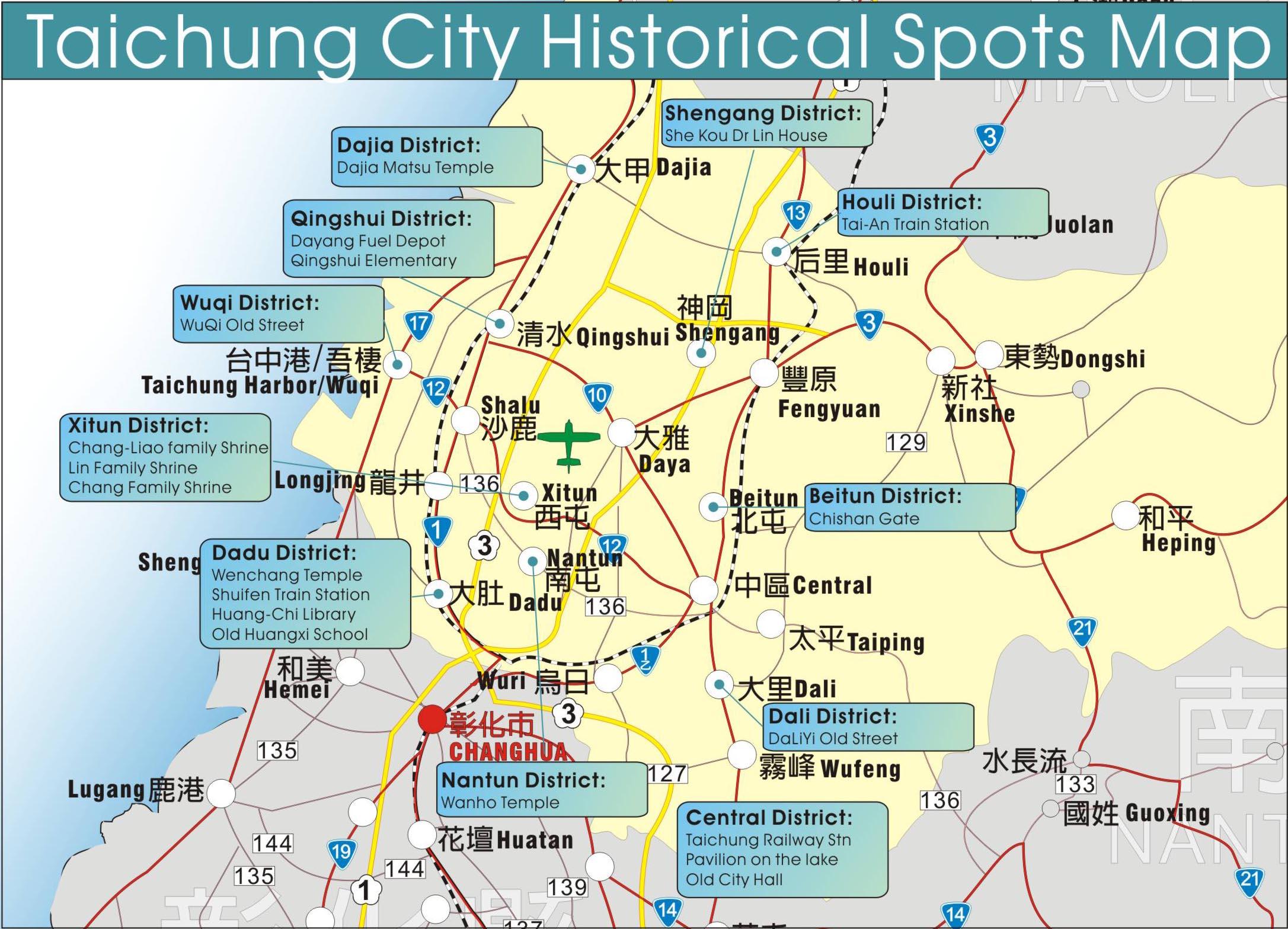 Taichung Taiwan Map, Browse Info On Taichung Taiwan Map ...